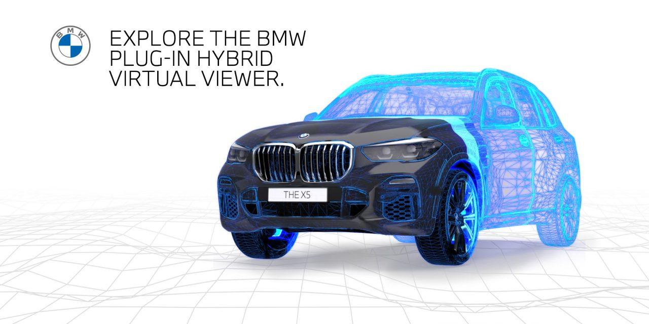宝马BMW市场营销发布AR虚拟查看器,成为在英国的汽车品牌中第一个AR增强现实工具