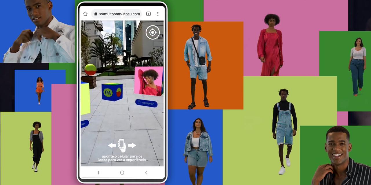 快消品牌C&A利用AR 为 《Big Brother Brasil》真人秀的1.67亿观众带来互动购物体验